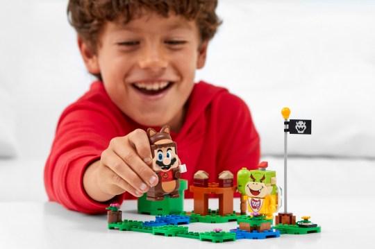 Lego Super Mario Tanooki Mario Power-Up Pack