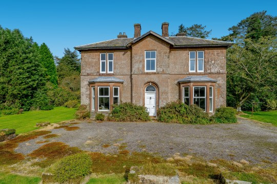 four-bedroom detached house in dumfriesshire