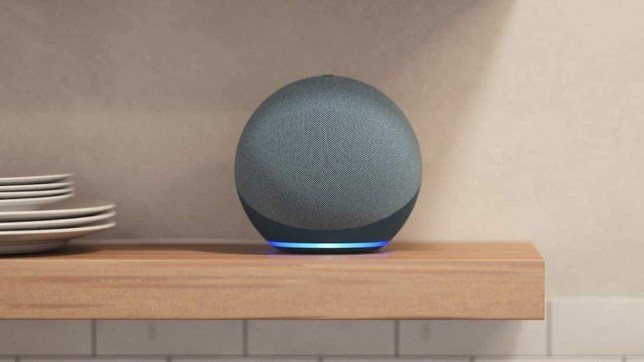 The Echo Dot (4th generation) has a new spherical shape (Amazon)