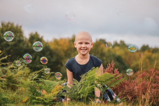 seren mawson, who has leukaemia