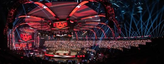 WWE ThunderDome at Tropicana Field, Tampa Bay - Raw