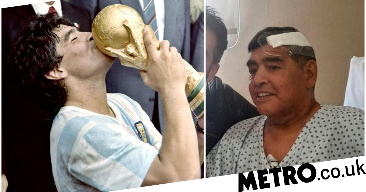 Diego Maradona told nephew he felt unwell on the morning of his fatal heart attack - metro