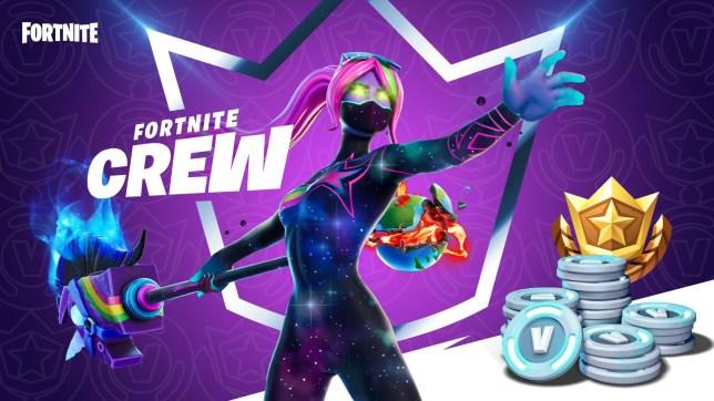 Fortnite Crew subscription artwork