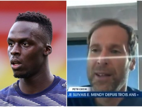 Petr Cech 'convinced' Edouard Mendy will get even better for Chelsea