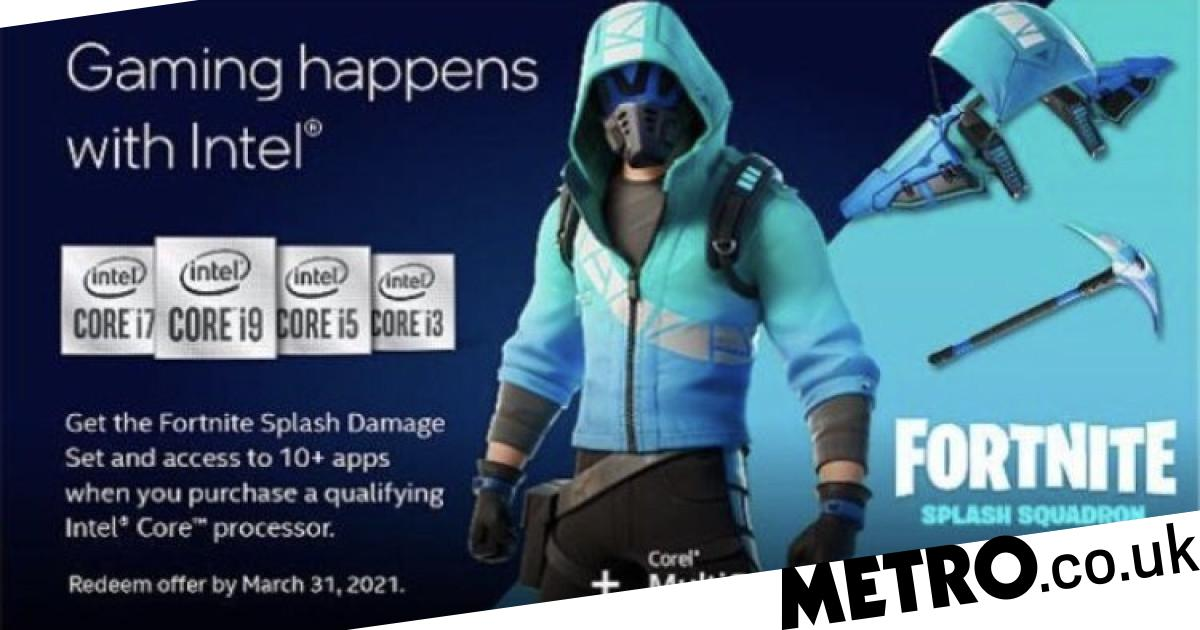 Fortnite Intel Skin Available Now Despite No Official Announcement Metro News Последние твиты от fortnite news (@fortniteintel). fortnite intel skin available now