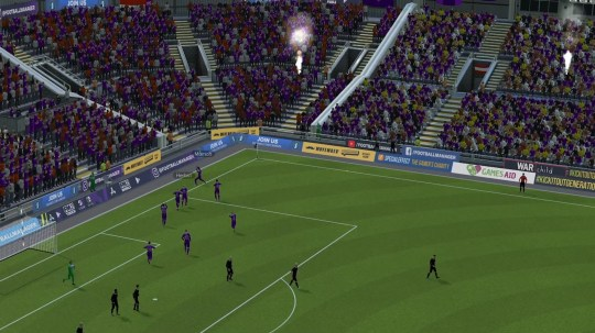 Football Manager 21 matchday experience