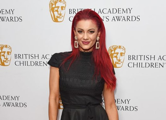Dianne Buswell on red carpet