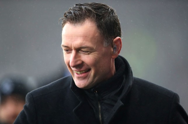 Ex-Chelsea striker Chris Sutton looks on prior to the Betfred Cup Final between Celtic and Aberdeen at Hampden Park on December 2, 2018 in Glasgow, Scotland.