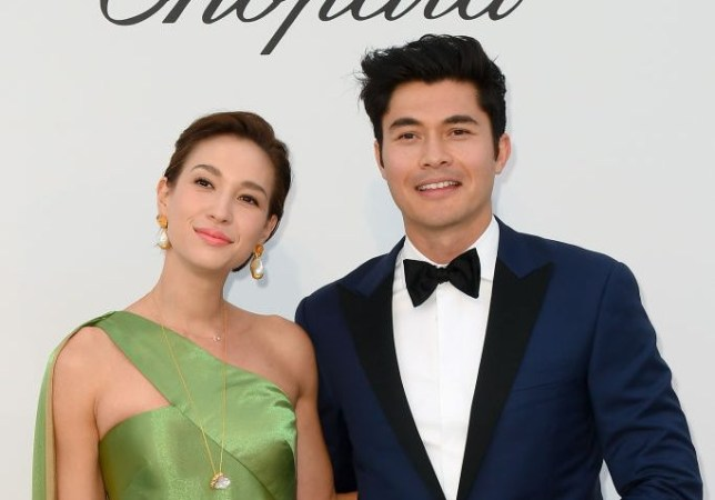 Henry Golding and wife Liv Lo