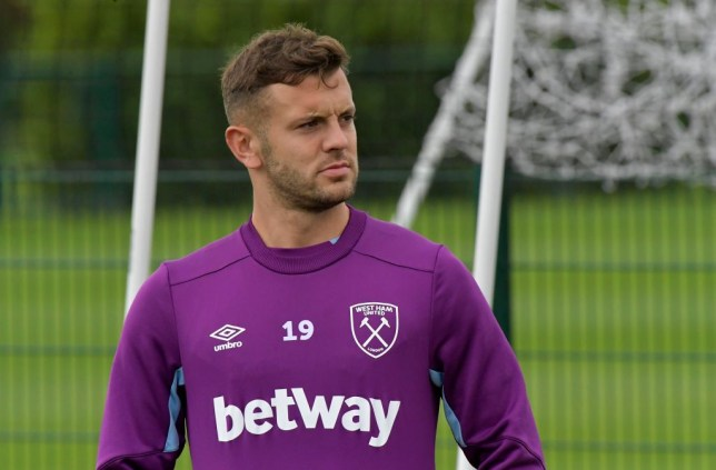 Jack Wilshere is currently a free agent after leaving West Ham in the summer