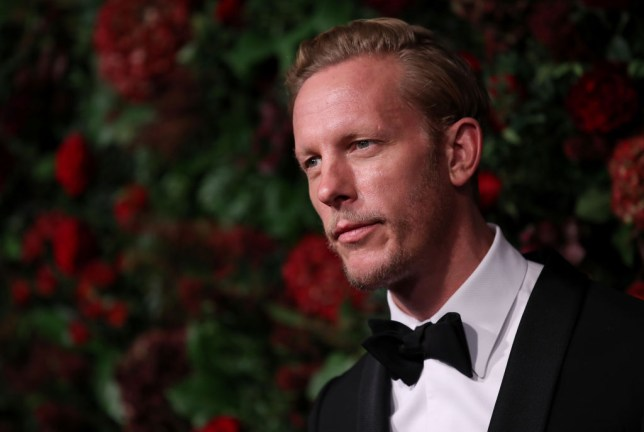 Laurence Fox attends 65th Evening Standard Theatre Awards