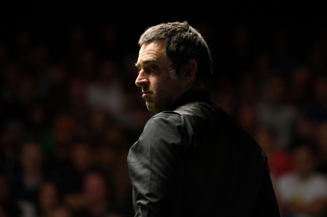 Ronnie O'Sullivan clashed with Mark Allen at the Champion of Champions