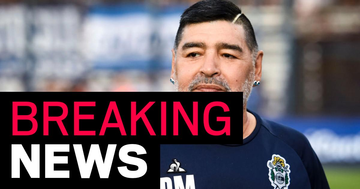 Diego Maradona dead two weeks after leaving hospital, Argentine media reports - metro