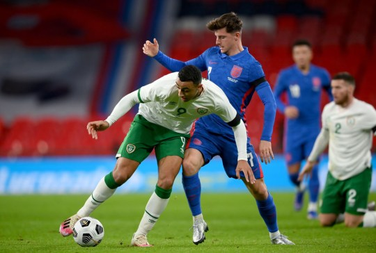 Mason Mount impressed for England against Ireland