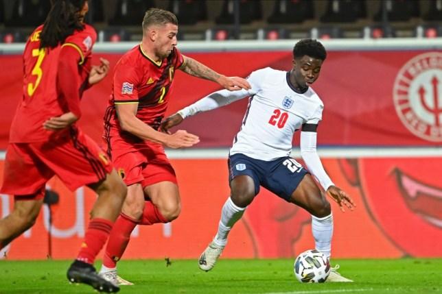 England boss Gareth Southgate praises Arsenal starlet Bukayo Saka   Metro  News