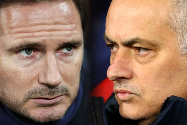 Lampard goes up against his former mentor on Sunday