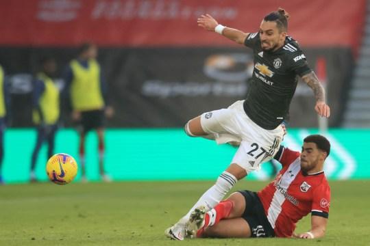Alex Telles Manchester United injury
