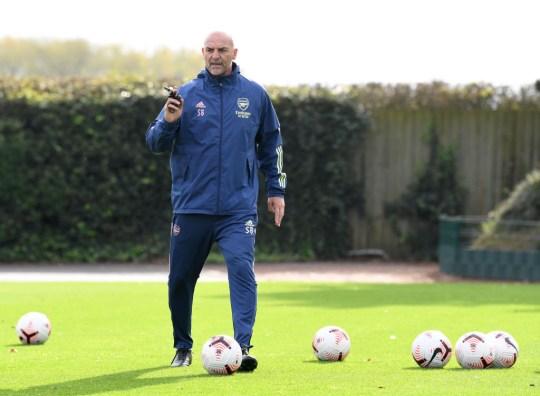 Bould has been complimentary of Arteta, says Adams