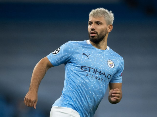 Sergrio Aguero of Manchester City