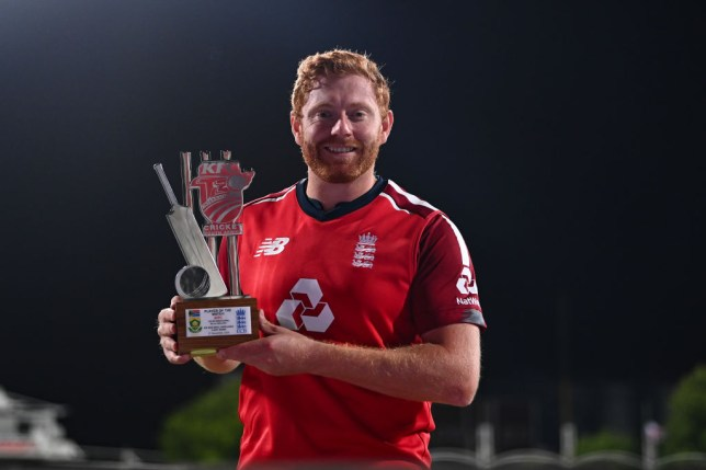 Jonny Bairstow starred as England beat South Africa in the opening T20 match