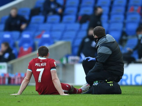 Liverpool boss Jurgen Klopp provides James Milner injury update after Brighton draw