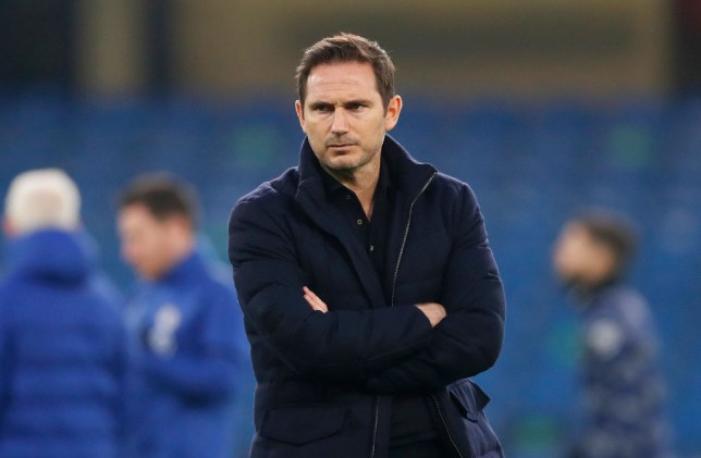 Frank Lampard, Manager of Chelsea looks on prior to the Premier League match between Chelsea and Tottenham Hotspur at Stamford Bridge on November 29, 2020 in London, England. Sporting stadiums around the UK remain under strict restrictions due to the Coronavirus Pandemic as Government social distancing laws prohibit fans inside venues resulting in games being played behind closed doors.