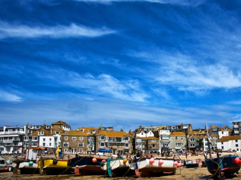 St Ives is 'the happiest place to live in Great Britain'