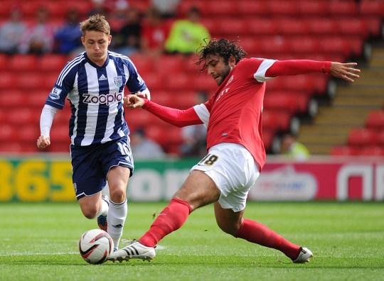 Soccer - Pre-Season Friendly - Barnsley v West Bromwich Albion