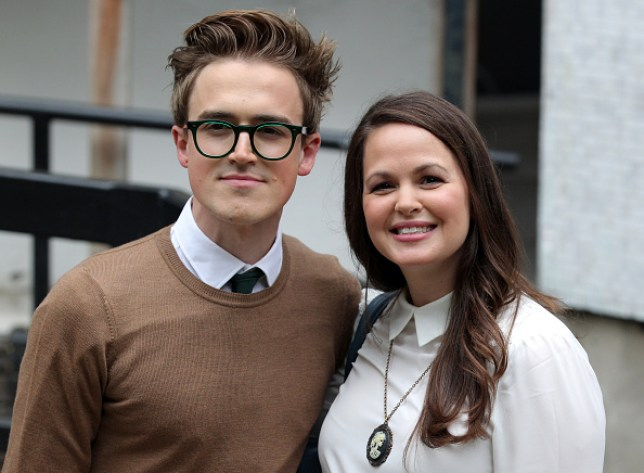 Giovanna Fletcher and husband Tom Fletcher
