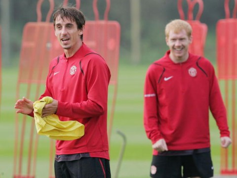 Paul Scholes disagrees with Gary Neville over Manchester United's best ever side
