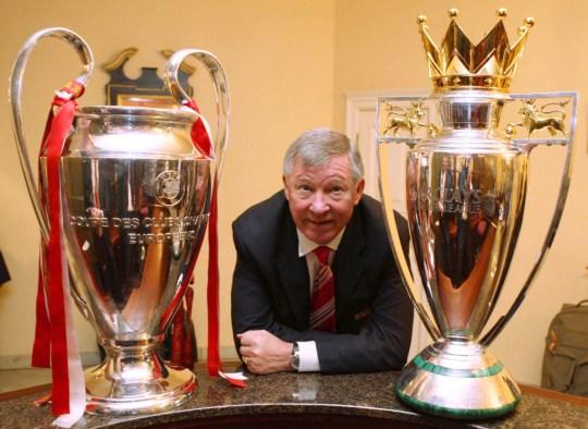 Manchester United Celebrate Winning The UEFA Champions League