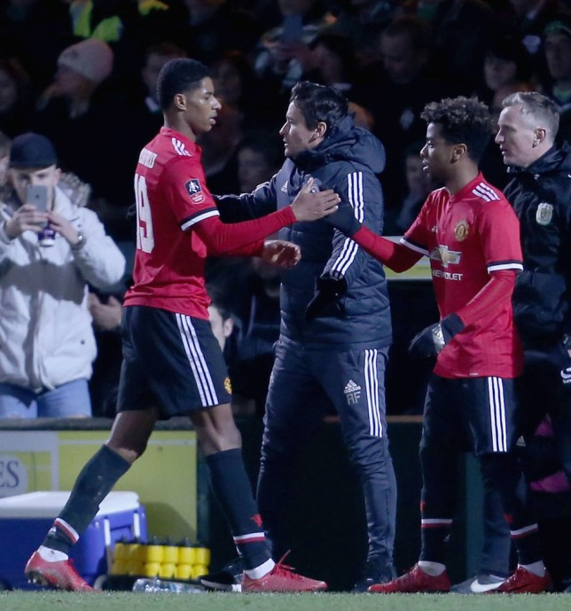 Rashford is keen to link up with the youngster again