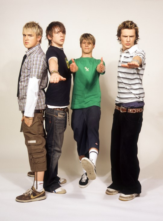 McFly in 2004