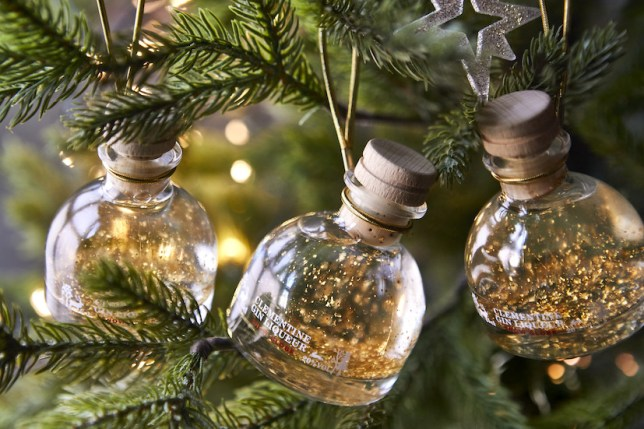 The gin baubles