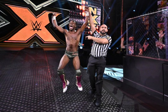 WWE and NXT superstar Leon Ruff