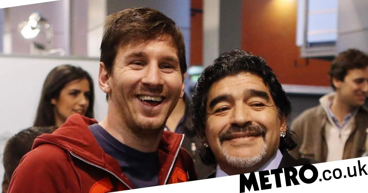 Lionel Messi pays tribute to 'eternal' Diego Maradona - metro
