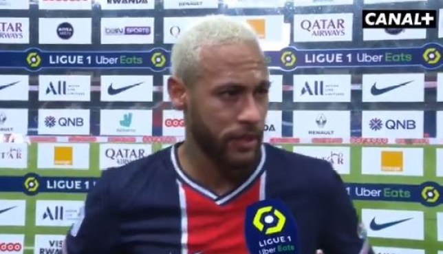 Neymar was not happy with Paris Saint-Germain's performances ahead of their clash with Manchester United