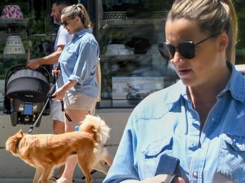 Below Deck Mediterranean star Hannah Ferrier welcomes baby girl with boyfriend Josh