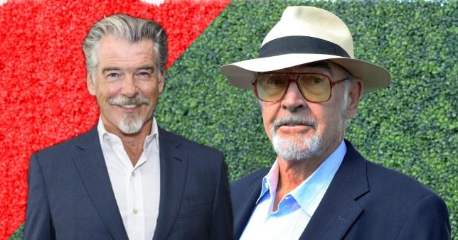 Pierce Brosnan Sean Connery tribute