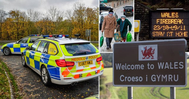 Wales' firebreak lockdown will end four days before new restrictions start in England