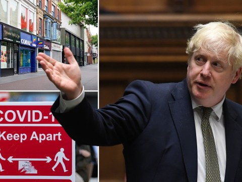 Boris Johnson warns there is 'no alternative' to second lockdown