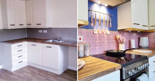 mum's kitchen transformation