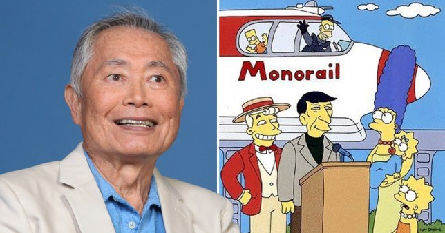 George Takei and The Simpsons