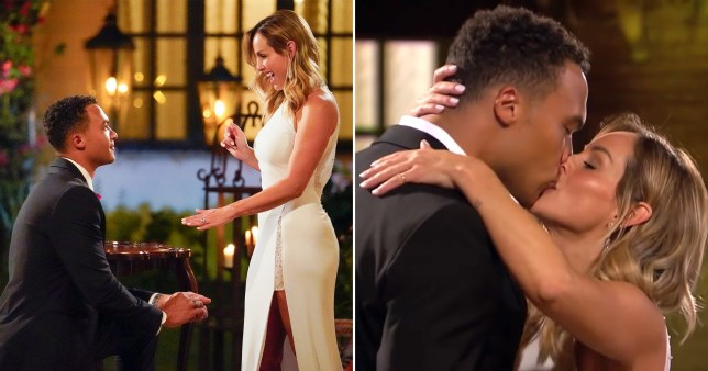 Bachelorette Clare Crawley getting engaged to Dale Moss