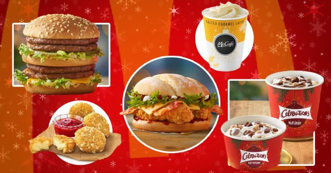 McDonald's new Christmas menu