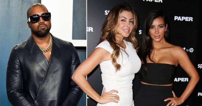 Larsa Pippen, Kim Kardashian and Kanye West