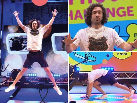 Joe Wicks kicks off 24 hour PE challenge with intense HIIT workout as he worries about using 'all my energy straight away'
