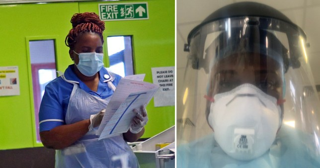Black nurses terrified they will be sent back to COVID wards without adequate PPE