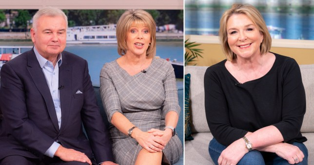 Fern Britton with Eamonn Holmes and Ruth Langsford
