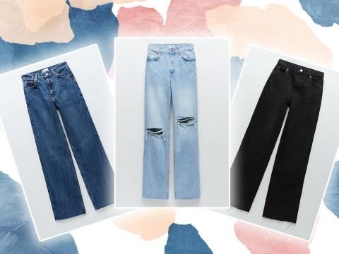 TikTokers are loving these £30 Zara wide-leg jeans